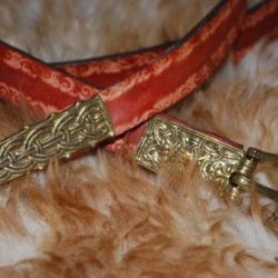 ceinture boucle en bronze marron foncé