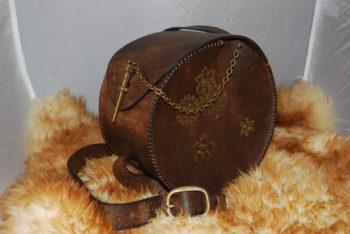 sac a main rond vintage