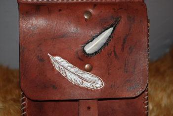 pochette plume