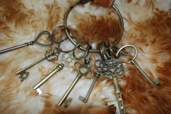 porte clés du château