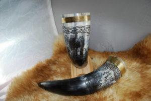 corne chardon écossais